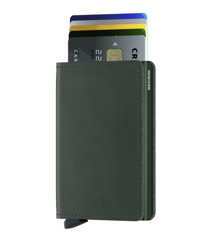 Secrid - Secrid Slimwallet Original Green Cüzdan (1)