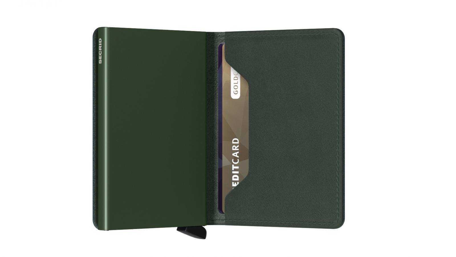 Secrid Slimwallet Original Green Cüzdan