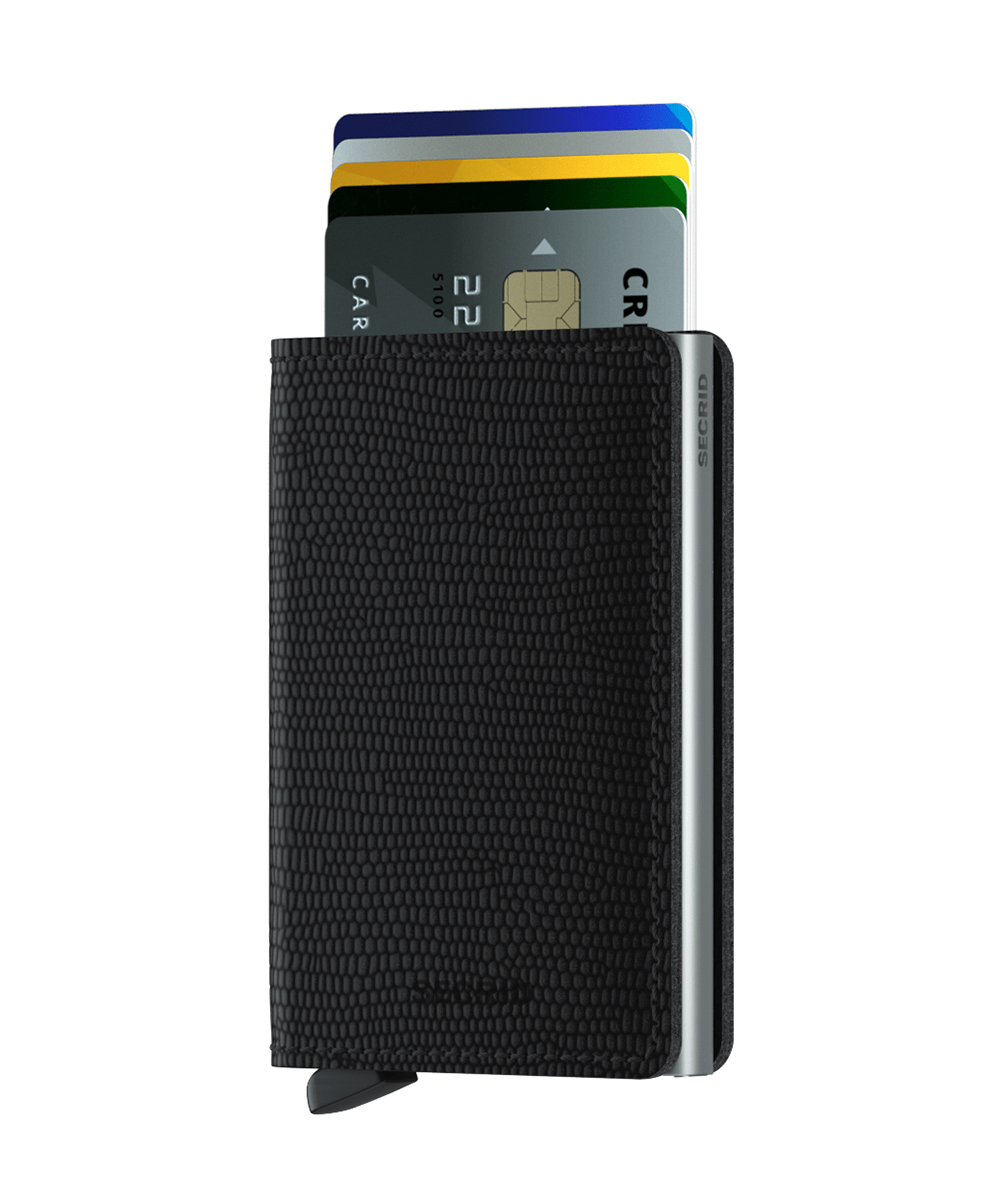 Secrid Slimwallet Rango Black Wallet