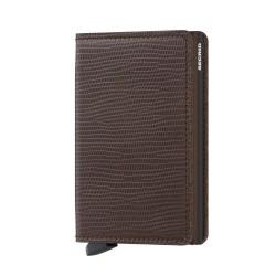 Secrid Slimwallet Rango Brown Brown Wallet - Thumbnail