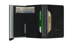 Secrid Slimwallet Stichline Black Wallet - Thumbnail