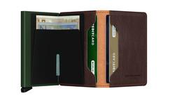 Secrid Slimwallet Veg Caramello Green Cüzdan - Thumbnail