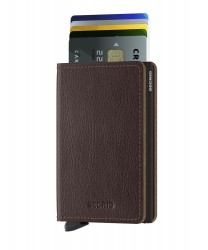 Secrid - Secrid Slimwallet Veg Espresso Wallet (1)