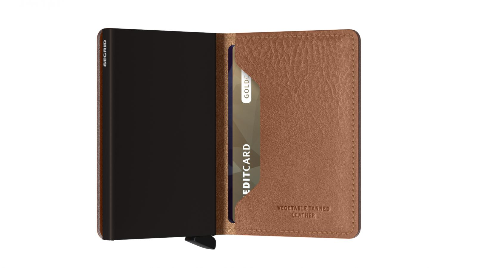 Secrid Slimwallet Veg Espresso Wallet