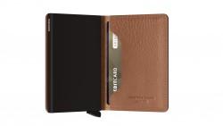 Secrid Slimwallet Veg Espresso Wallet - Thumbnail