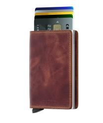 Secrid - Secrid Slimwallet Vintage Brown Wallet (1)