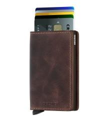 Secrid - Secrid Slimwallet Vintage Chocolate Wallet (1)