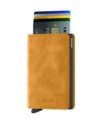 Secrid - Secrid Slimwallet Vintage Ochre Wallet (1)