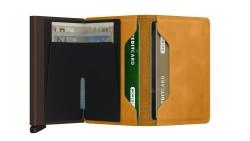 Secrid Slimwallet Vintage Ochre Wallet - Thumbnail