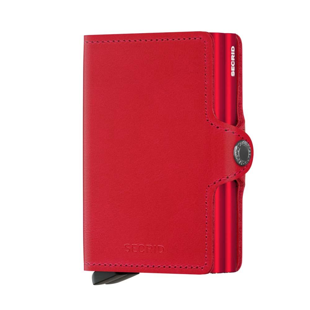 Secrid Twinwallet Original Red Red Cüzdan