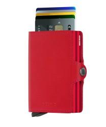 Secrid Twinwallet Original Red Red Cüzdan - Thumbnail