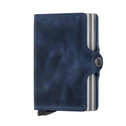 Secrid Twinwallet Vintage Blue Cüzdan - Thumbnail