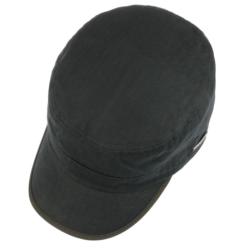 Stetson - Stetson Army Cap Cotton Herringbone Lacivert Saf Pamuk Şapka (1)