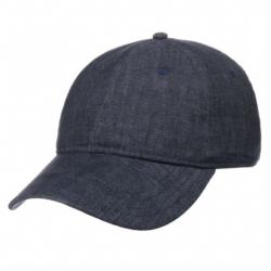 Stetson - Stetson Baseball Cap Linen Lacivert Keten Şapka