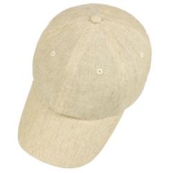 Stetson - Stetson Baseball Cap Linen Natural Keten Şapka (1)