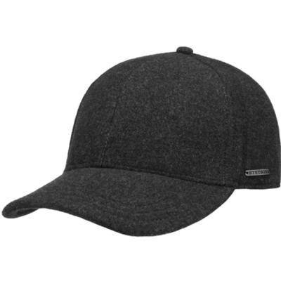 Stetson - Stetson Baseball Şapkası Antracite Yün Cashmere Kulaklıklı Şapka (1)
