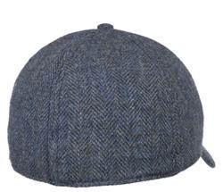 Stetson - Stetson Baseball Şapkası Balık Sırtı Mavi Laci Yün Şapka (1)