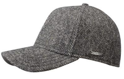 Stetson - Stetson Baseball Şapkası Balıksırtı Yün Kahve Şapka
