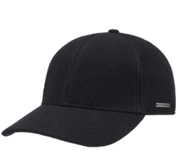 Stetson - Stetson Baseball Şapkası Lacivert Yün Kaşmir Kulaklıklı Şapka (1)