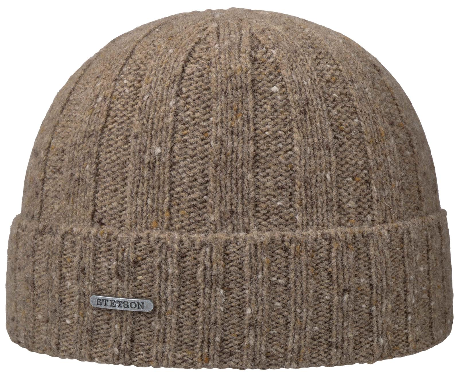 Stetson Beanie Cream Hat