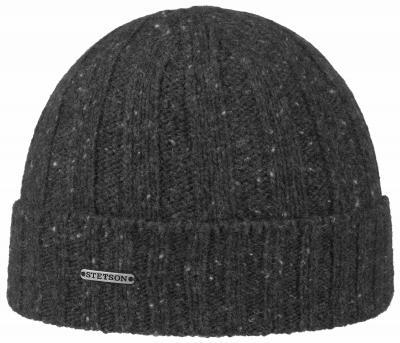 Stetson - Stetson Beanie Wool Grey Hat