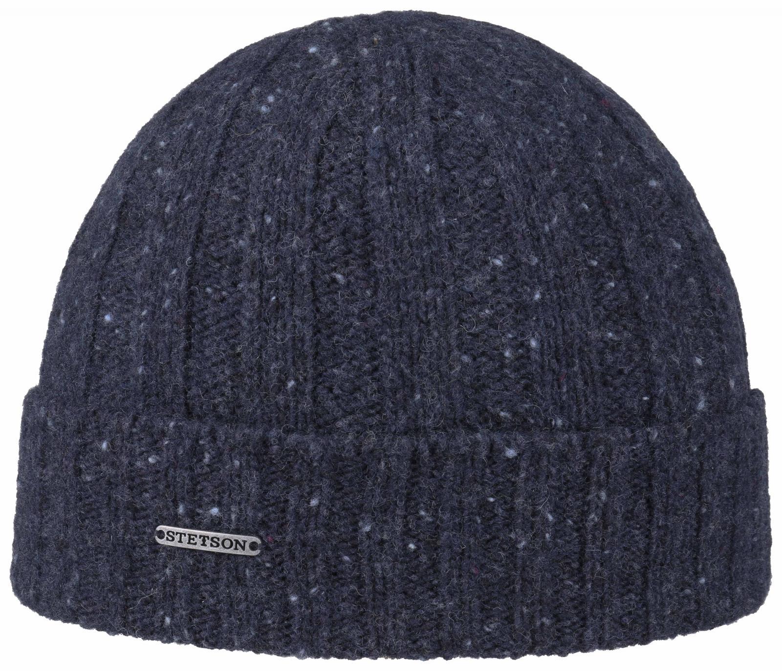 Stetson Beanie Yün Lacivert Şapka