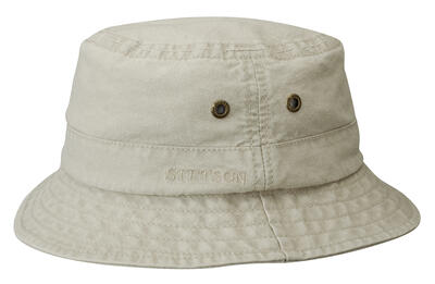 Stetson - Stetson Bucket Delave Organic Cotton Uv Protection Bej Şapka