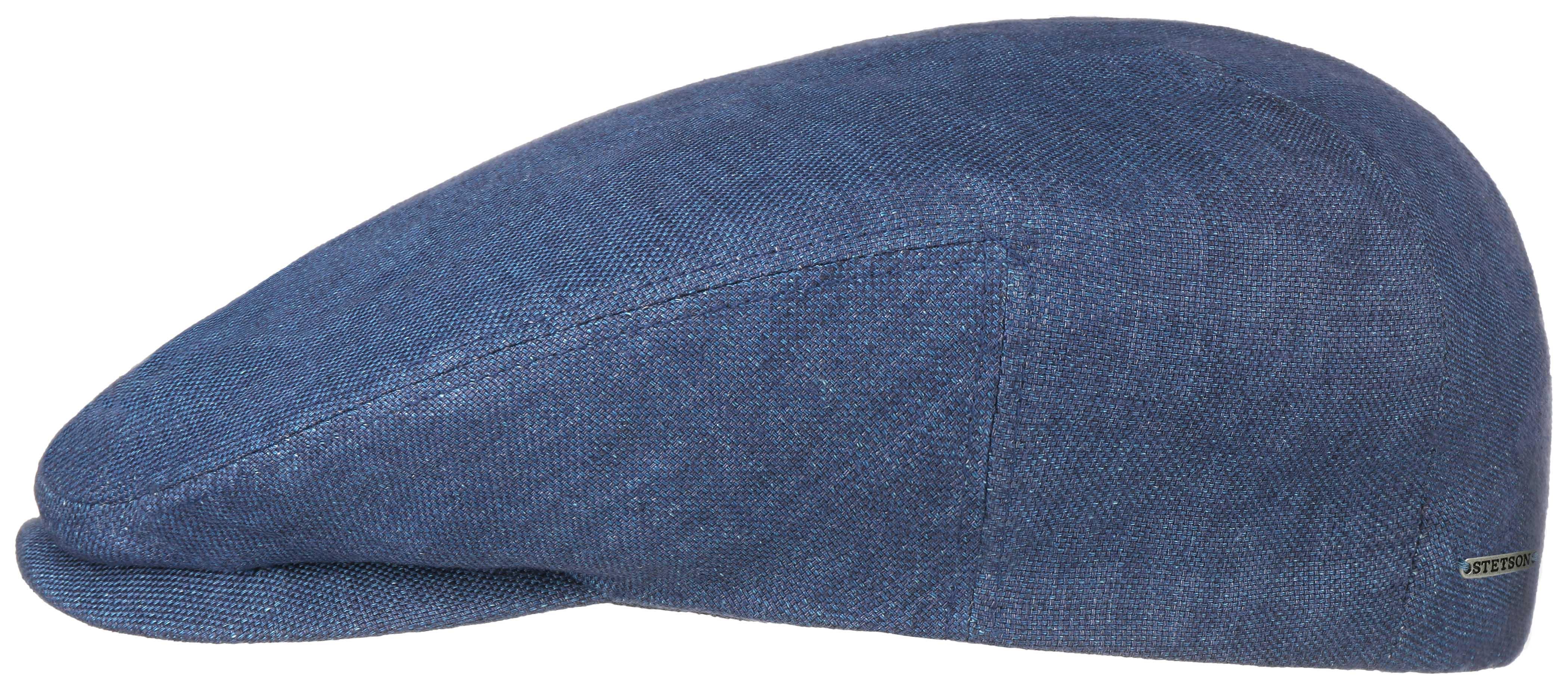Stetson Driver Cap Linen Lacivert Şapka