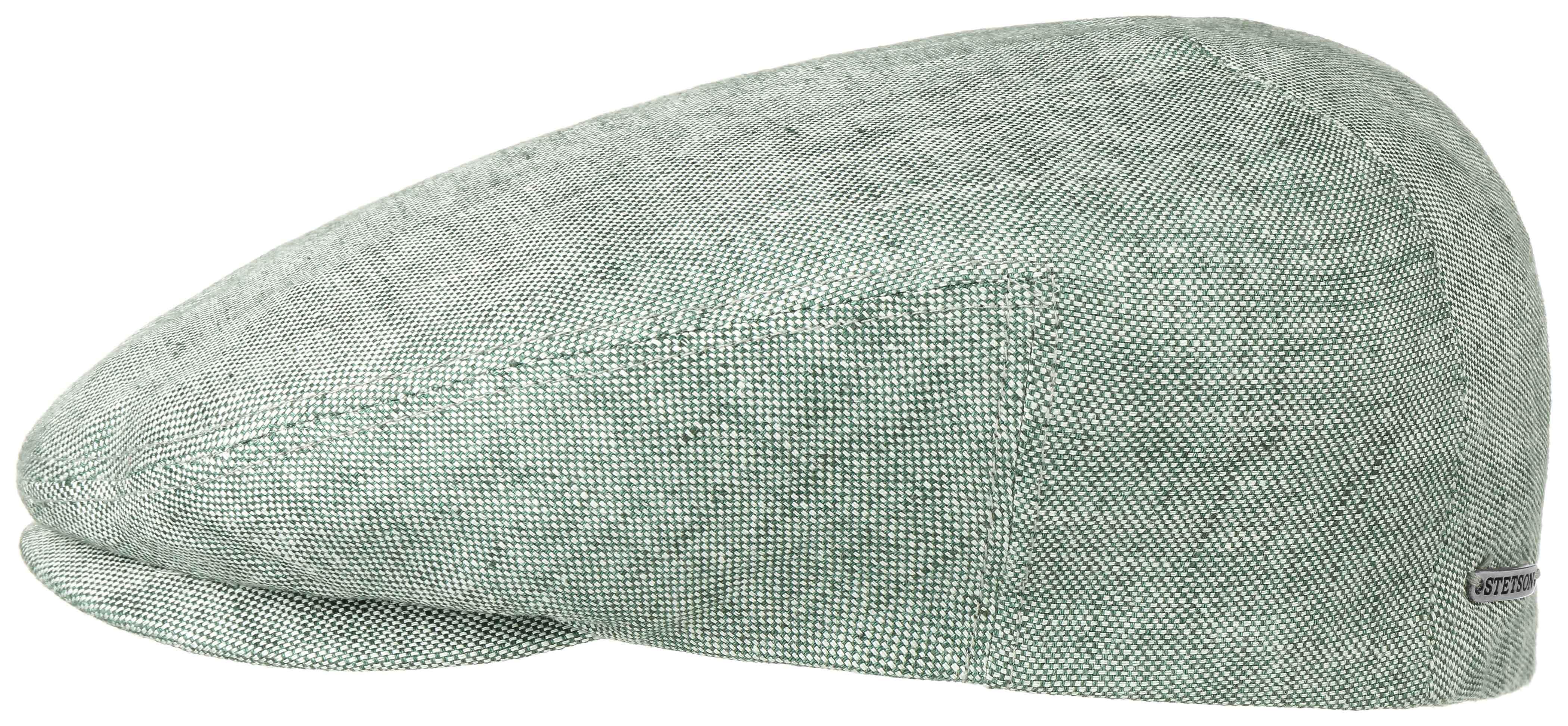 Stetson Driver Cap Linen Yeşil Gri Şapka