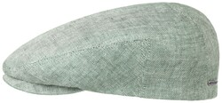 Stetson - Stetson Driver Cap Linen Yeşil Gri Şapka
