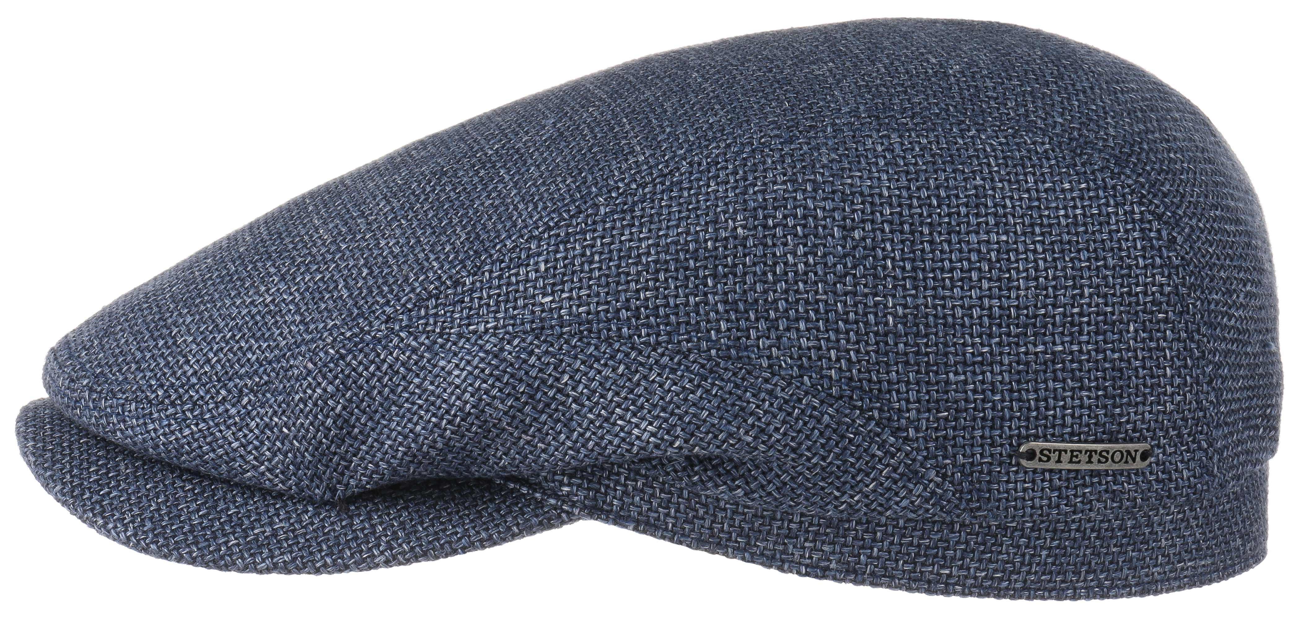 Stetson Driver Cap Virgin Wool Linen Şapka