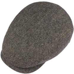 Stetson - Stetson Driver Cap Wool Balık Sırtı Kahverengi Yün Şapka (1)