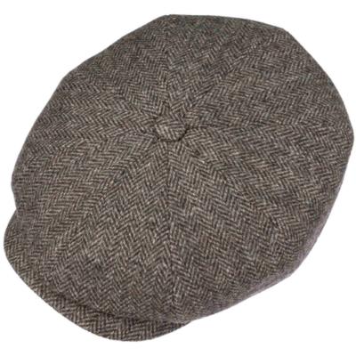 Stetson - Stetson Hatteras Wool Balık Sırtı Kahverengi Yün Şapka (1)