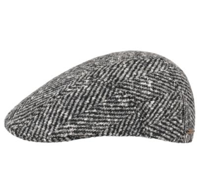 Stetson - Stetson Ivy Kap Balık Sırtı Wirgin Wool/Yün El Yapımı Gri Siyah Şapka
