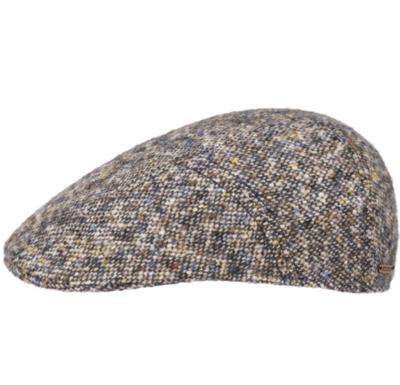 Stetson - Stetson Ivy Kap Donegal/Tweed Wirgin Wool/Yün El Yapımı Bej Şapka