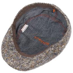 Stetson Ivy Kap Donegal/Tweed Wirgin Wool/Yün El Yapımı Bej Şapka - Thumbnail