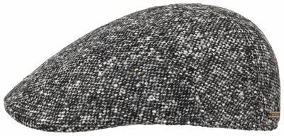 Stetson - Stetson Ivy Kap Virgin Wool Tweed Grey Black Hand made Hat