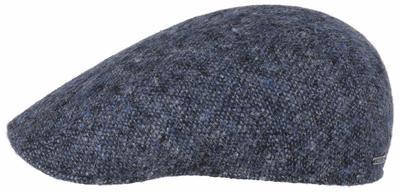 Stetson - Stetson Ivy Virgin Tweed Navy Blue Handmade Cap