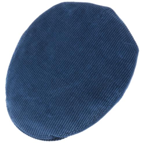 Stetson - Stetson Kent Cord Açık Lacivert Kadife Şapka (1)