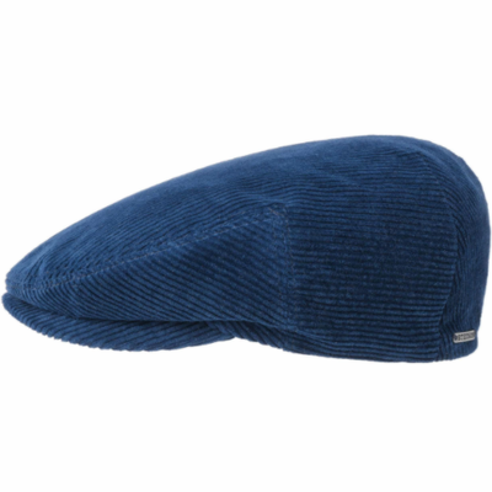 Stetson - Stetson Kent Cord Açık Lacivert Kadife Şapka