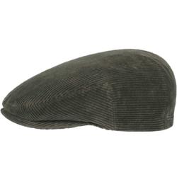 Stetson - Stetson Kent Cord Yeşil Kadife Şapka
