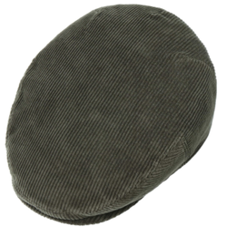 Stetson - Stetson Kent Cord Yeşil Kadife Şapka (1)