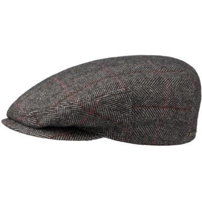 Stetson - Stetson Kent Kahverengi Balık Sırtı Yün Kulaklıklı Şapka (1)