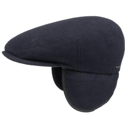 Stetson - Stetson Kent Lacivert Yün Kaşmir Kulaklıklı Şapka