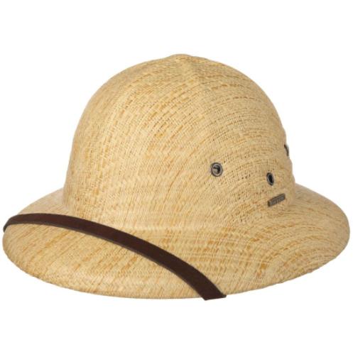 Stetson - Stetson Pith Helmet Toyo Bej Şapka