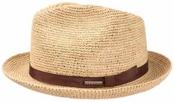 Stetson - Stetson Player Raffia Crochet Natural Straw Beige Hat (1)