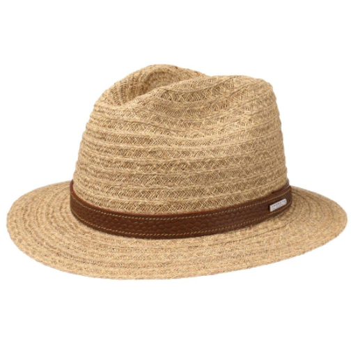 Stetson - Stetson Traveller Raffia Natural Straw Hasır Şapka