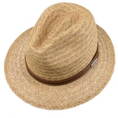 Stetson - Stetson Traveller Raffia Natural Straw Hasır Şapka (1)